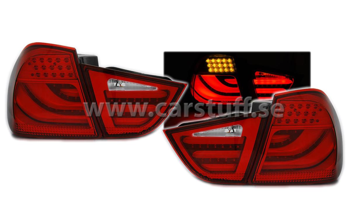 Www Carstuff Se Bmw E90 09 11 Led Lightbar Bakljus